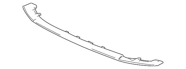 Mitsubishi OEM Lower Deflector - EVO X
