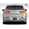 Extreme Dimensions Duraflex RX-S Rear Lip Spoiler - Mitsubishi Lancer 2008-2013