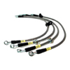 Techna-Fit Stainless Steel Brake Lines - Lancer Ralliart 2009+ AWD