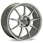 Enkei RSM9 Platinum Silver set of 4 wheels- evo 8/9/X