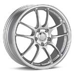 Enkei PF01 Bright Silver Paint - Set of 4 Wheels - Evo X