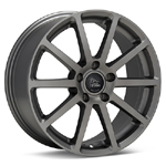 Monte MT2 Pari Matte Titanium set of 4 Wheels - Evo X/Ralliart