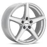 Rial R10 Bright Silver Set of 4 Wheels - Lancer Ralliart