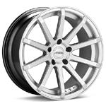 ASA GT10 Hyper Silver Set of 4 Wheels - Lancer Ralliart