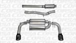 Corsa Catback Exhaust Black Tips- Evo X