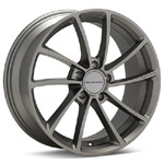 KMC KM691 Spin Gunmetal Painted Rims (set of 4) - Evo 8