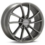 KMC KM691 Spin Gunmetal Painted Rims (set of 4) - Evo 8