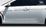 Extreme Dimensions 2 PC Duraflex Evo X Look Side Skirts Rocker Panels - 08-15 Lancer