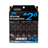 Project Kics R26 Lug Nuts Black RACING COMPOSITE R26: 12X1.5 - EVO 8/9/X