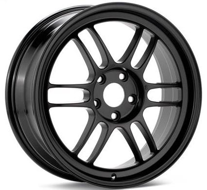 Enkei RPF1 18x8.5 5x114.3 30mm Offset 73mm Bore Matte Black Wheel Evo 8 & 9 / 350Z / G35