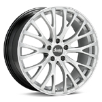 Advanti FS Fastoso Bright Silver with Mach Lip Set of 4 Wheels - Evo X/Ralliart