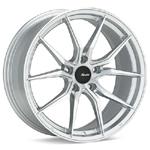 Advanti HY Hybris Silver Machined w/ Clear coat set of 4 wheels - Lancer Ralliart