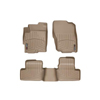 WeatherTech Tan FloorLiner Digital Fit Floor Mats - EVO X