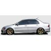 ChargeSpeed Bottom Line Carbon Side Skirts - EVO 8