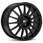 Motegi MR119 Black Painted Set of 4 Wheels - Evo X