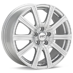 Sport Edition Silver Painted C3 Set of 4 Wheels - Lancer Ralliart