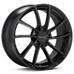 KMC KM691 Black Painted Rims (set of 4) - Evo 8