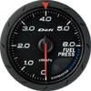 Defi Advance CR Black 60mm Fuel Pressure Gauge (Metric)