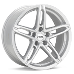 Rial P10 Bright Silver Painted Set of 4 Wheels - Evo X /Ralliart