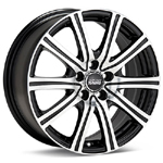 Sport Tuning Machined with Black Accent set of 4 Wheels - Lancer Ralliart