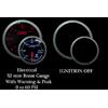 ProSport Premium 52mm Electric Boost Gauge 0-60 PSI Amber/White
