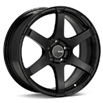 Enkei T6S Painted Black Wheels - evo 8/9/X