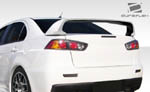Extreme Dimensions 1 PC Duraflex Evo X Look Wing Trunk Lid- 08-15 Lancer