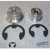Buschur Racing Under Hood Shifter Bushings 2pc - EVO 8/9 MR (6 speed)