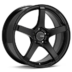 Enkei Kojin Black Painted set of 4 Wheels - Evo 8/9/X