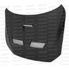 Seibon CW Style Dry Carbon Fiber Hood - EVO X