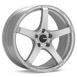 Enkei Kojin Matte Silver set of 4 Wheels - Evo 8/9/X