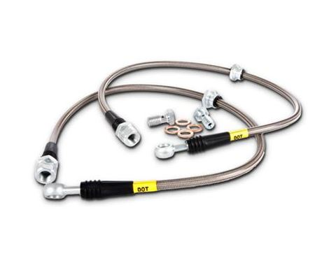 StopTech 08-10 Mitsubishi Lancer Stainless Steel Front Brake Lines