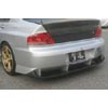 ChargeSpeed Type 2 Rear Bumper w/Diffuser - EVO 8/9