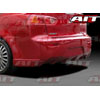 AIT Racing C-Weapon Style Rear Bumper - Lancer 2008-2013