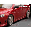 AIT Racing C-Weapon Style Side Skirts - Lancer 2008-2012