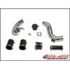 AMS Lower Intercooler Pipe Kit w/ TiAL QR Blow Off Valve - EVO X