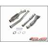 AMS Single Tip Turbo Back Exhaust System - EVO X