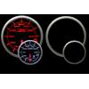 ProSport Premium 60mm Electric Oil Temperature Gauge Amber/White