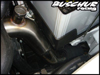"Buschur Racing 2009 Lancer Ralliart 2.5"" S.S. Lower IC Pipe (Brushed)"