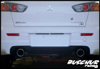 "Buschur Racing 2009 Lancer Ralliart 3"" S.S. Catback Exhaust"
