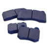 WORKS Blue Rear Brake Pads - EVO X