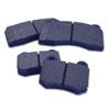 WORKS Blue Rear Brake Pads - EVO 8/9