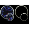 ProSport Premium 52mm Electric Boost Gauge Blue/White