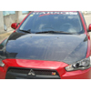 Bay Speed Aero OEM Carbon Fiber Hood - Lancer 08+
