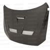 Seibon CW Style Carbon Fiber Hood - EVO X