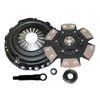Competition Clutch Stage 4 - 6 Pad Rigid Ceramic Clutch Kit - EVO X
