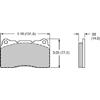 Wilwood ProMatrix Front Brake Pads - EVO 8/9/X