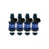 FIC 1250cc BlueMax Fuel Injector Clinic Injector Set (Low-Z) - EVO 8/9