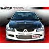 VIS Racing Demon Carbon Fiber Front Lip - EVO 8