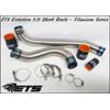 ETS Titanium Upper Intercooler Piping - EVO 8/9